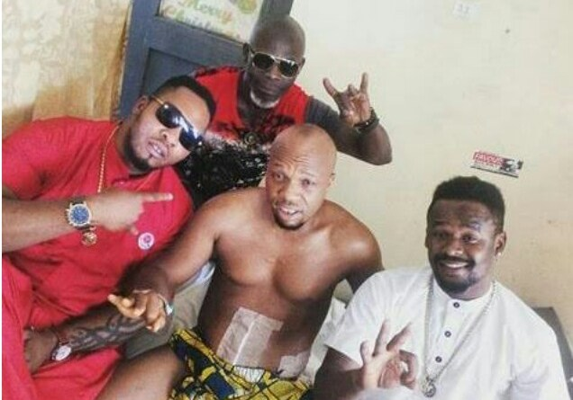 Nollywood actor shot 6 times by policeman, says he is still scared