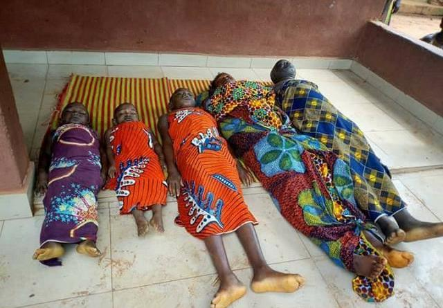 Family of five die after having dinner
