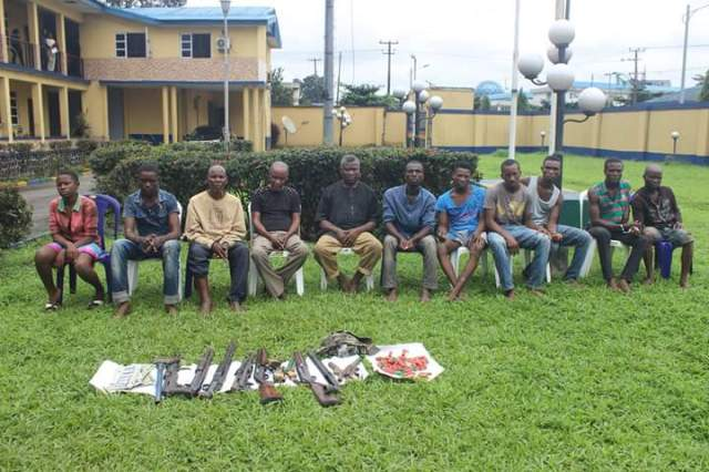 75 year -Old ritualist, others paraded in Rivers State