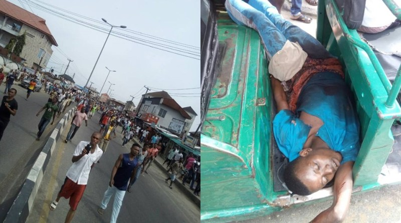 Policeman Kills 'Pure Water' Seller In Rivers For Not Observing Environmental Sanitation