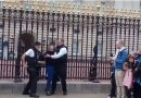 Woman caught trying to climb into Buckingham Palace