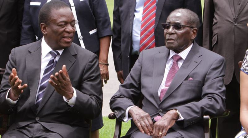 Exiled Vice President Emmerson Mnagngawa named as Mugabe's Successor