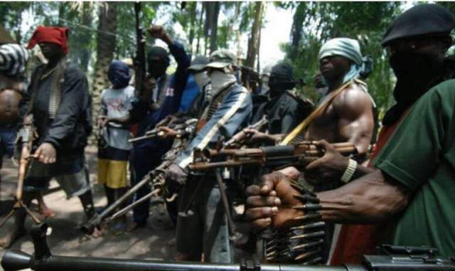 Rivers State:  Navy arrests five kidnappers , declares gang leader Kirgika 'Schoolboy' wanted