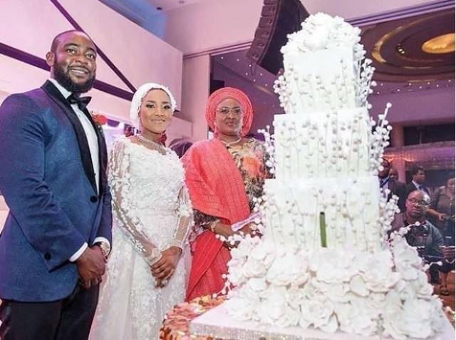 Check out breathtaking wedding cake of Dangote's daughter