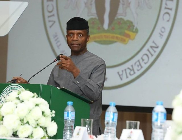 Osinbajo in Austria for Heads of Government meeting