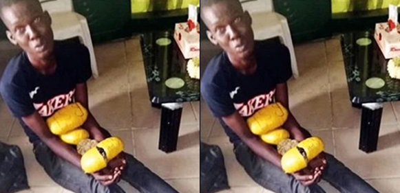 Drug dealers apprehended for attempting to sell marijuana to Ikoyi Prison inmates (Photos)