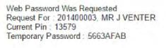 ug students password set up