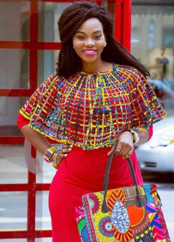 african fashion dress with accessories