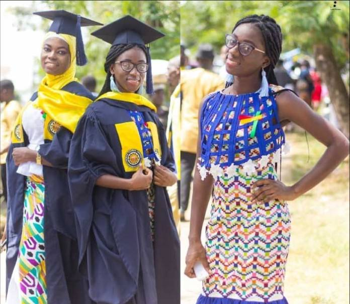 Latest african print graduation style