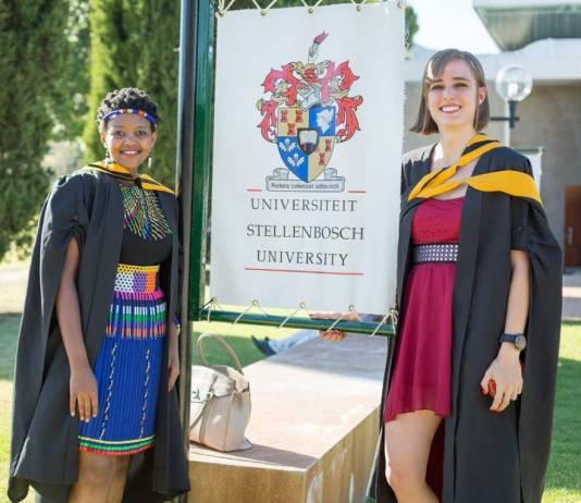 stellenbosch university graduation