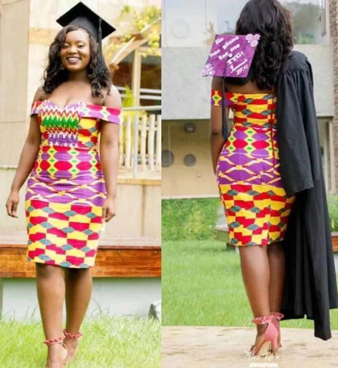 kente dresses for graduation