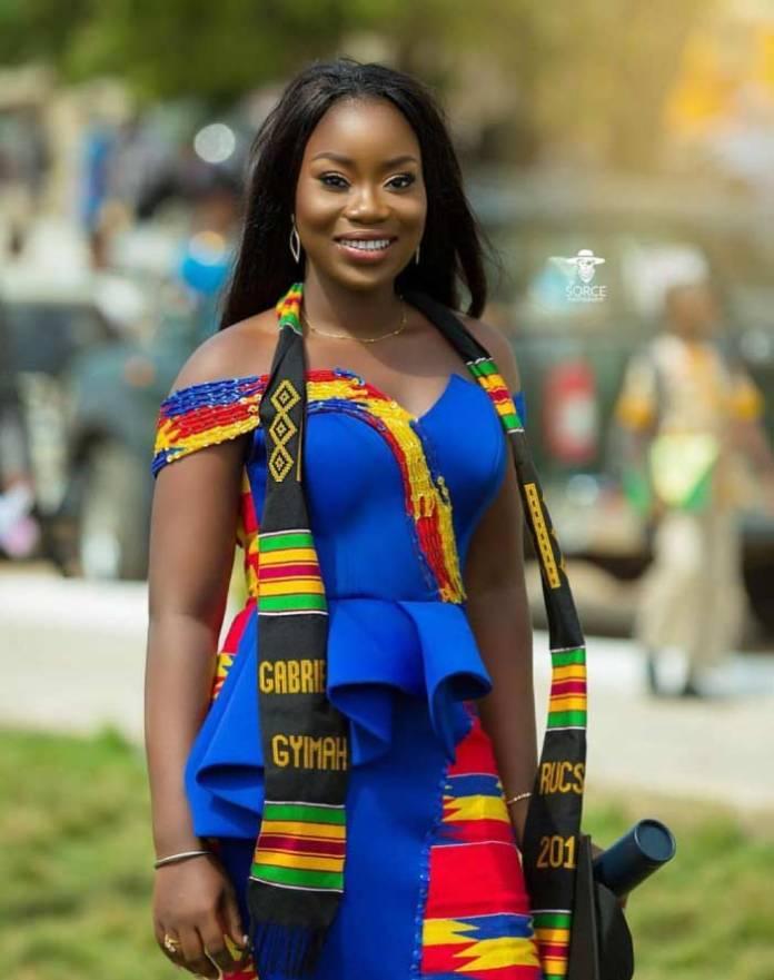 kente fashion for graduation