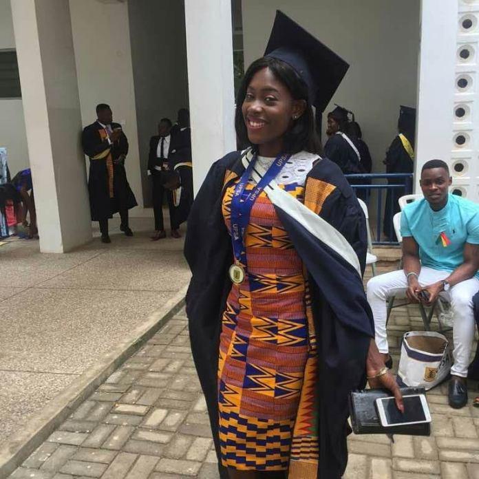 kente graduation dress