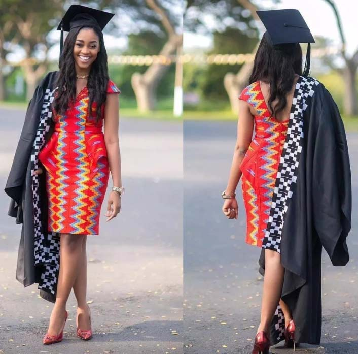 Ankara Styles 125 Kente Special: African Print Styles For Graduation In 2019