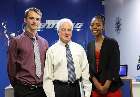Boeing Interns in South Africa