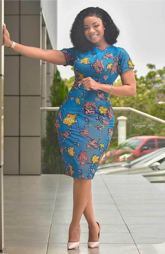 Beautiful african print dress