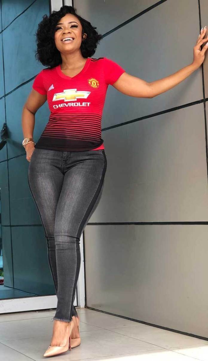 Manchester united top with jeans