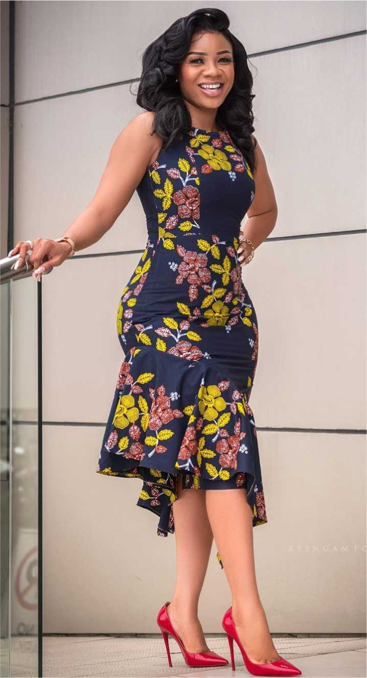 Serwaa Amihere fashion dresses