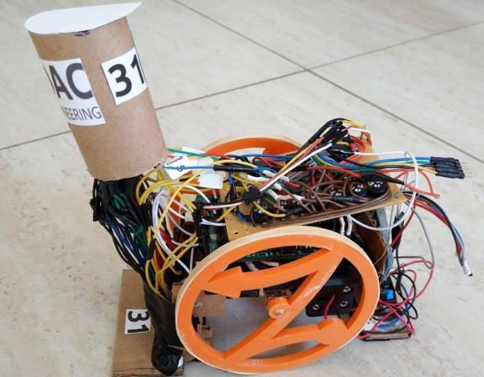 The winning university of pretoria robot
