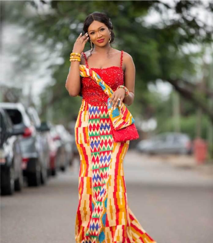 Sima Brew kente style for wedding