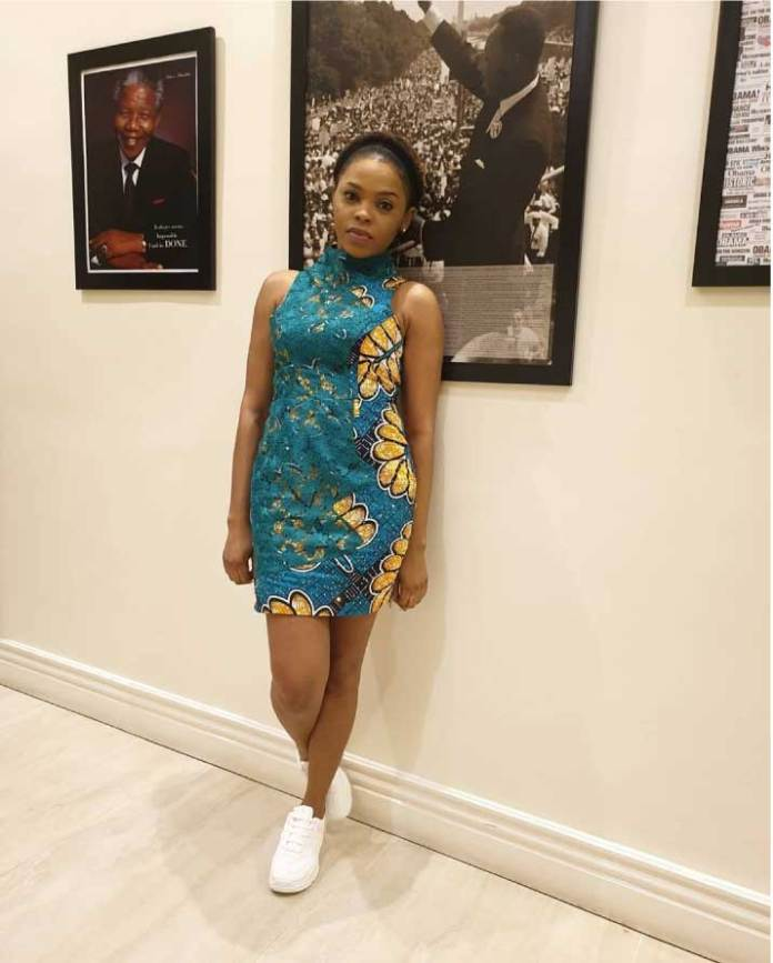 chidinma in African print