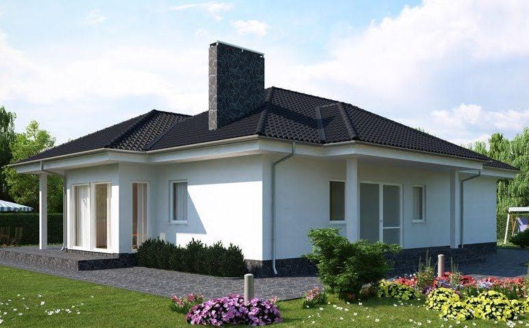 2 Bedroom House Simple Plan