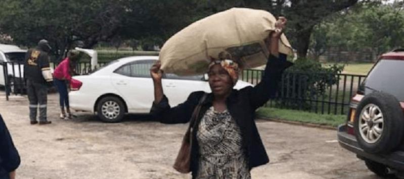 Zimbabwean Widow