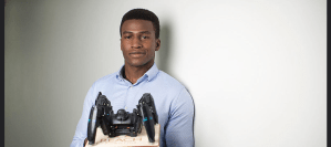 26-year-old Silas Adekunle; Creator of World's First Gaming Robot
