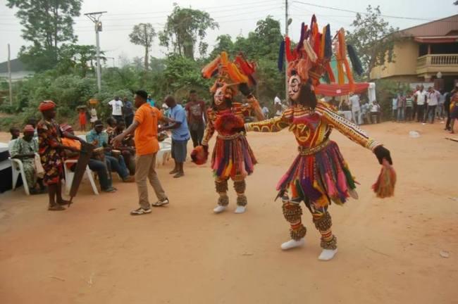 celebration of masquerades