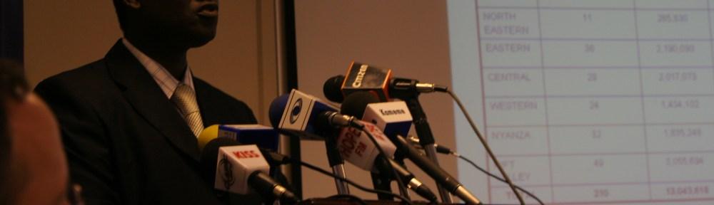 Kenya election USAID IRI poll release Peter Oriare Strategic