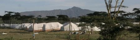 Post-election IDP camp at Naivasha, Kenya, 2008