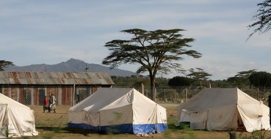Kenya IDP Camp Post Election Violence Naivasha