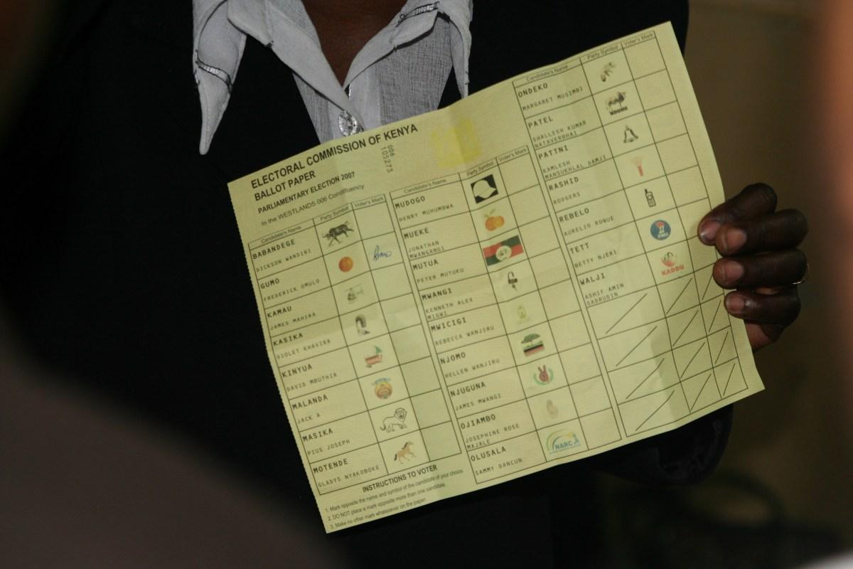 Kenya challenged vote