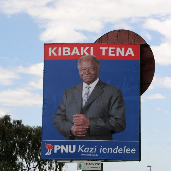 Kenya 2007 election Kibaki Tena Kazi iendelee re-election