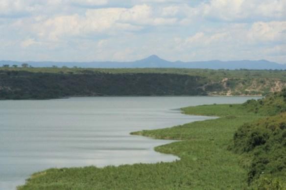 Lake Edward into Congo