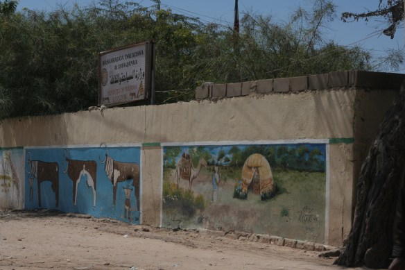 Hargeisa Somaliland Ministry Tourism and Culture murals