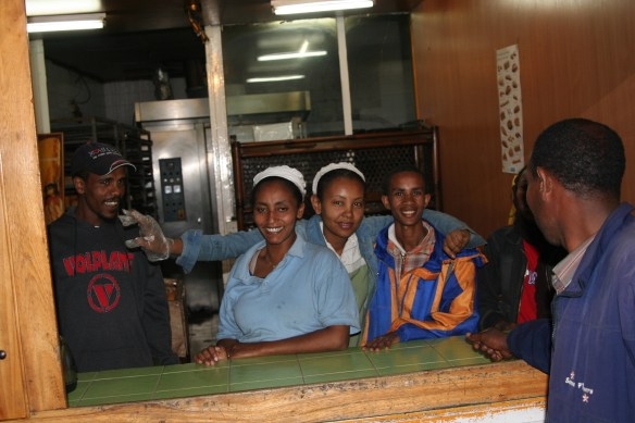 Addis Ababa, Ethiopia youth bakery