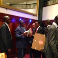 Africpost: Sileymane SOKOME parle de son livre sur le Journal Télévisé De La RTS Du Samedi 21 Mars 2015 (à la 51eme minute)