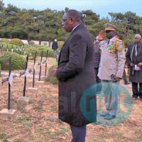 Turquie – Commémoration du 100ème anniversaire de la bataille des Dardanelles : Macky Sall se recueille sur les tombes de tirailleurs sénégalais
