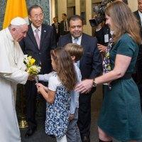 Vatican-ONU: Visite historique du Pape François au siège des Nations Unies à New York