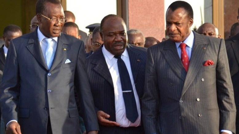 Idriss Déby, Ali Bongo, Denis Sassou Nguesso