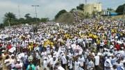 Marche de soutien au Président Ali Bongo Ondimba à Libreville