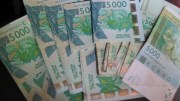 vol de franc CFA