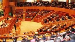 Les députés à l'assemblée nationale