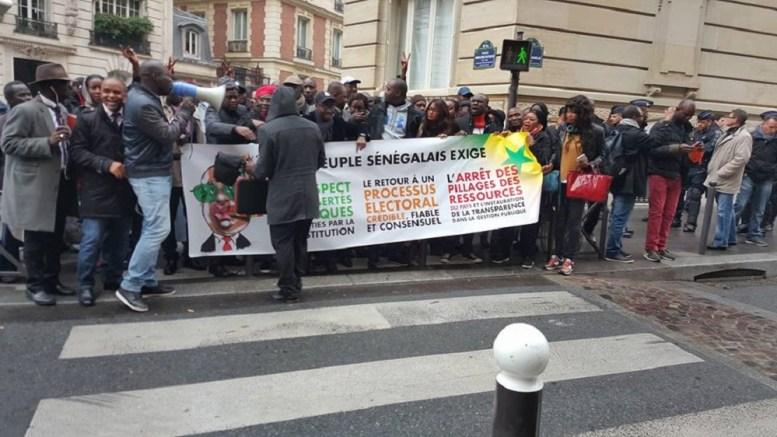 manifestation de l'opposition Sénégalaise