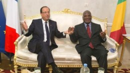 IBK et François Hollande