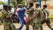 La police zambienne
