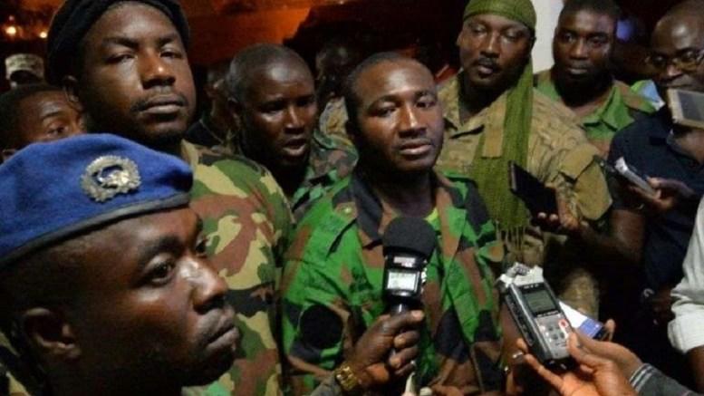 Les militaires Mutins à Bouaké