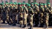 Les militaires de la Mauritanie