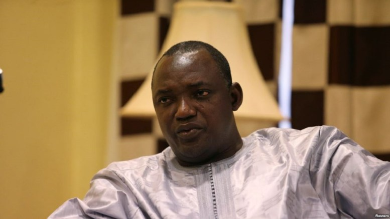 Adama Barrow en France - Gambie : Adama Barrow en France et en Belgique